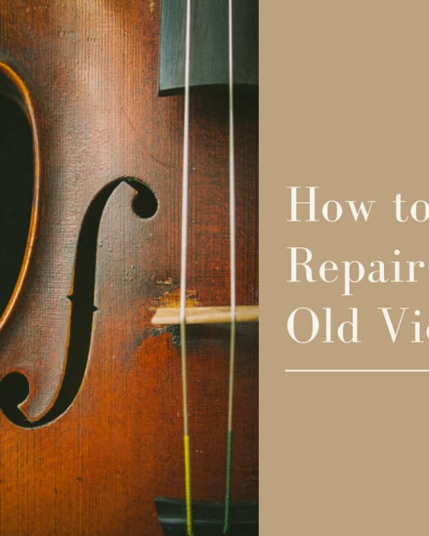 an-old-violin