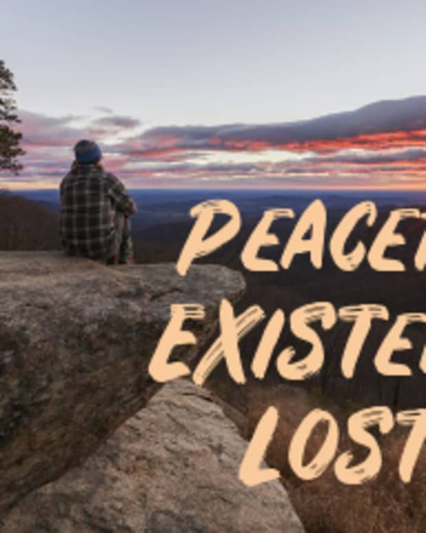 poem-peaceful-existence-lost