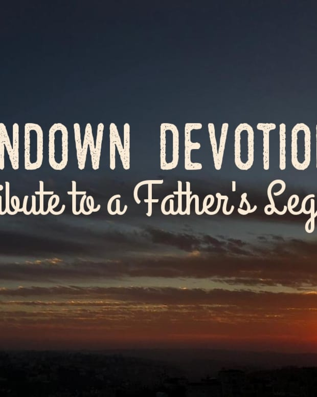 sundown-devotional-tribute-to-a-fathers-legacy