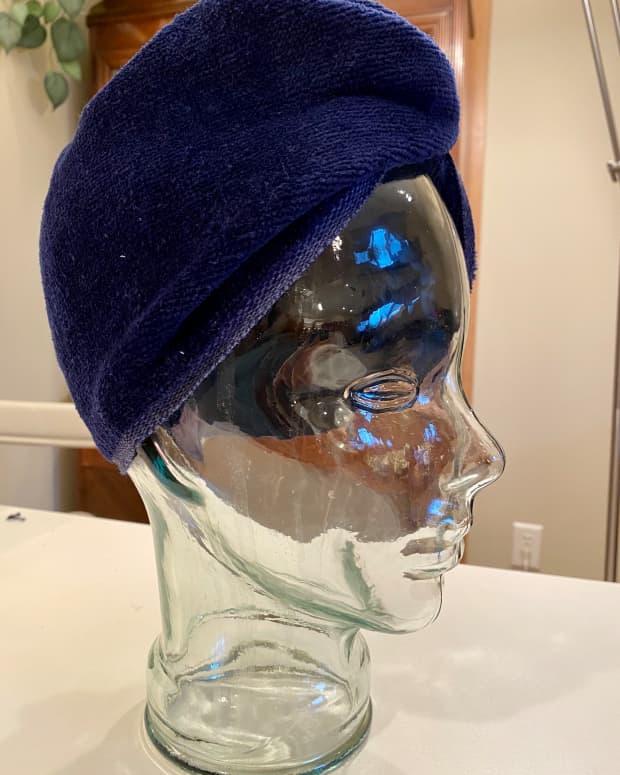 how-to-make-a-hair-turban