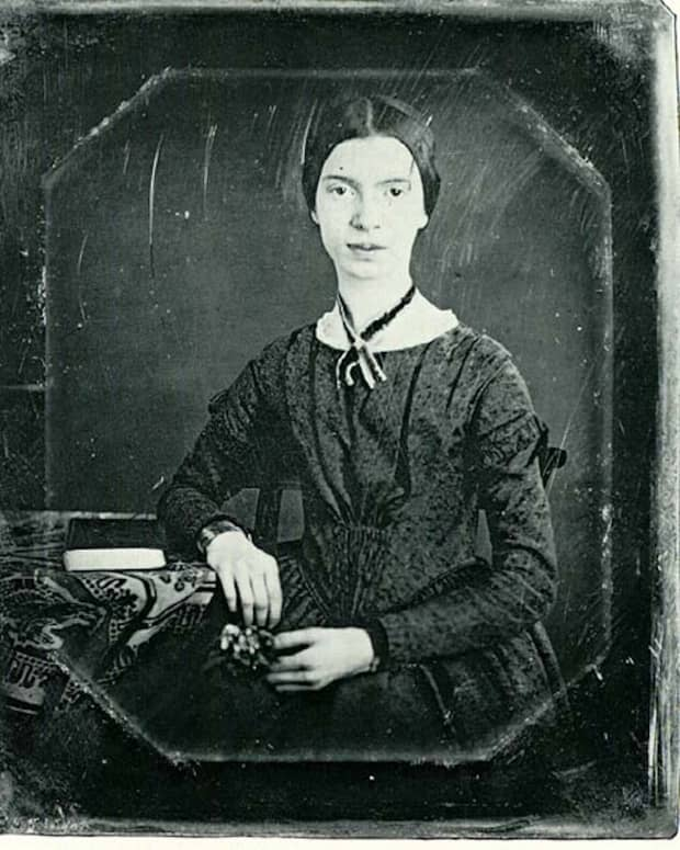 Emily Dickinson - This daguerreotype is likely the only extant, authentic image of the poet.