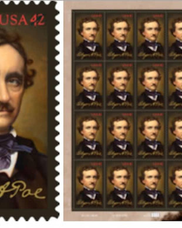 Edgar Allan Poe - Commemorative Stamp