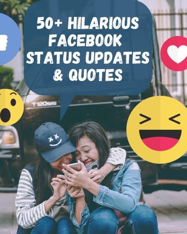 50-funny-facebook-status-ideas