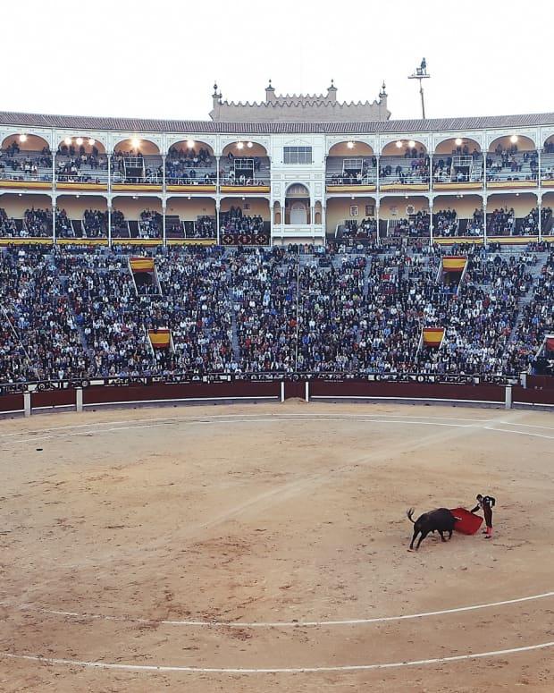 a-bullfight-in-spain