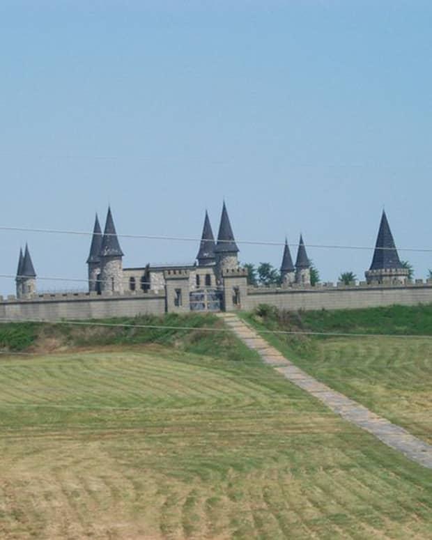 The Castle, a unique horse farm near Versailles KY.