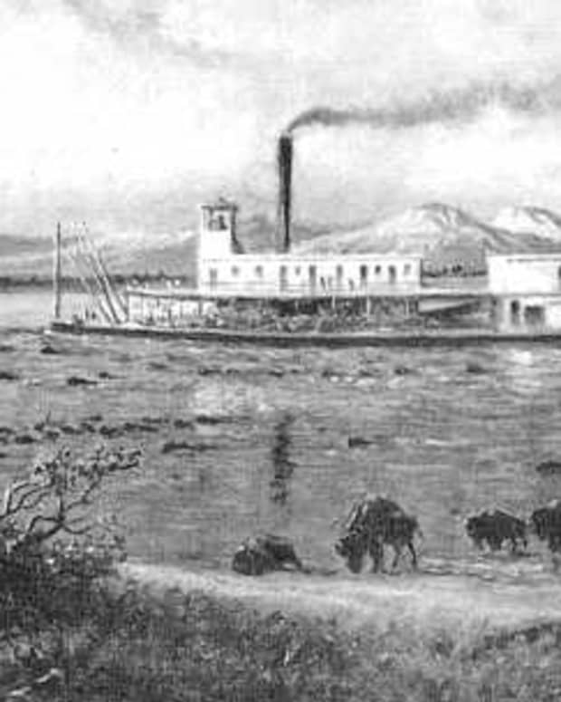 Museums in Tulsa: The Early Days of Modern Transportation on the Arkansas River.  Image on display at the Arkansas River Historical Society Museum at the Port of Catoosa.
