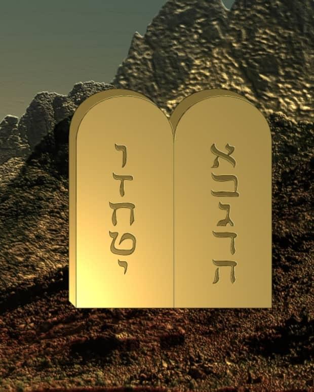 ten-words-commandments-and-ten-things-god-said-at-creation