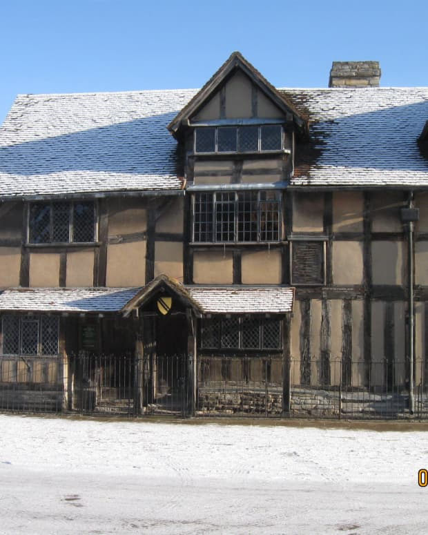Shakespeare's Birthplace. Stratford Upon Avon, Warwickshire. Copyright Tricia Mason
