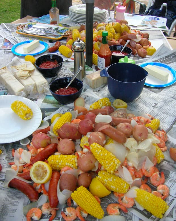 Mmm...nothing like fresh seafood!