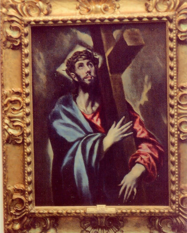 Christ Carrying the Cross by El Greco * Photo by Peggy W