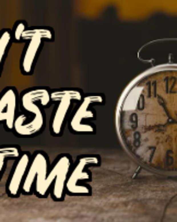 poem-dont-waste-time