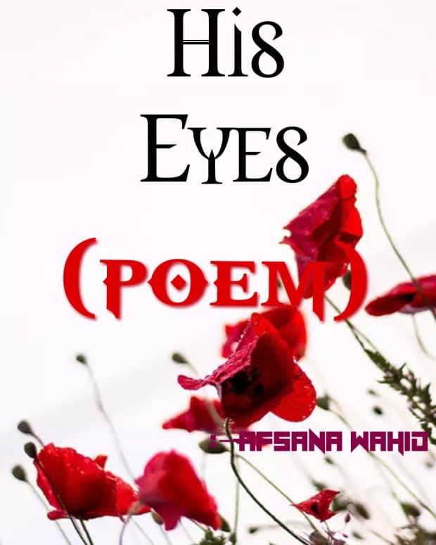 his-eye-poem