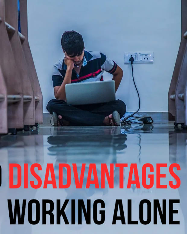 disadvantages-of-working-alone