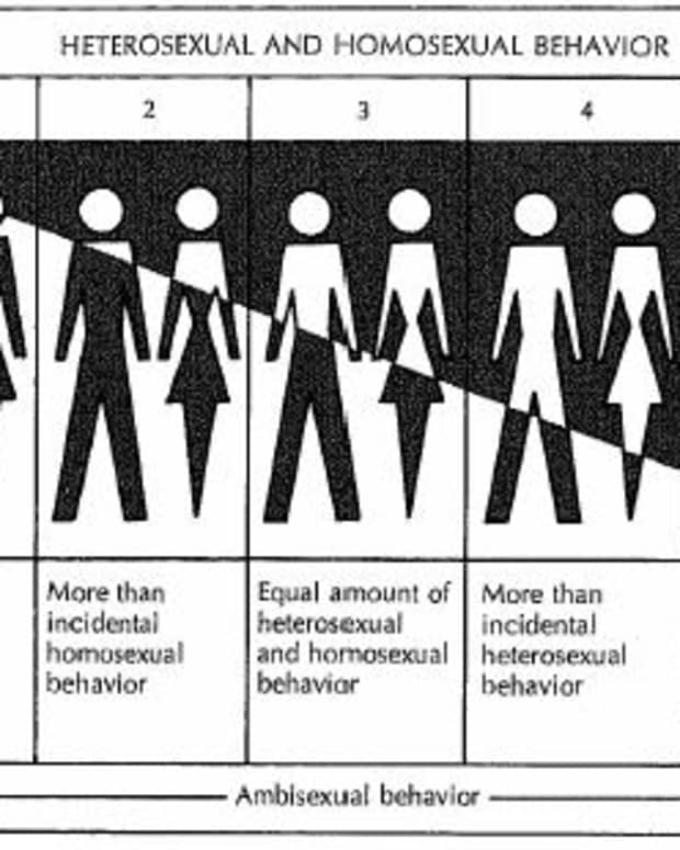 """Asexuality - even forgotten by the Kinsey Scale! (Asexuals being catergorized merely as """"X"""" in the initial research papers.)"""