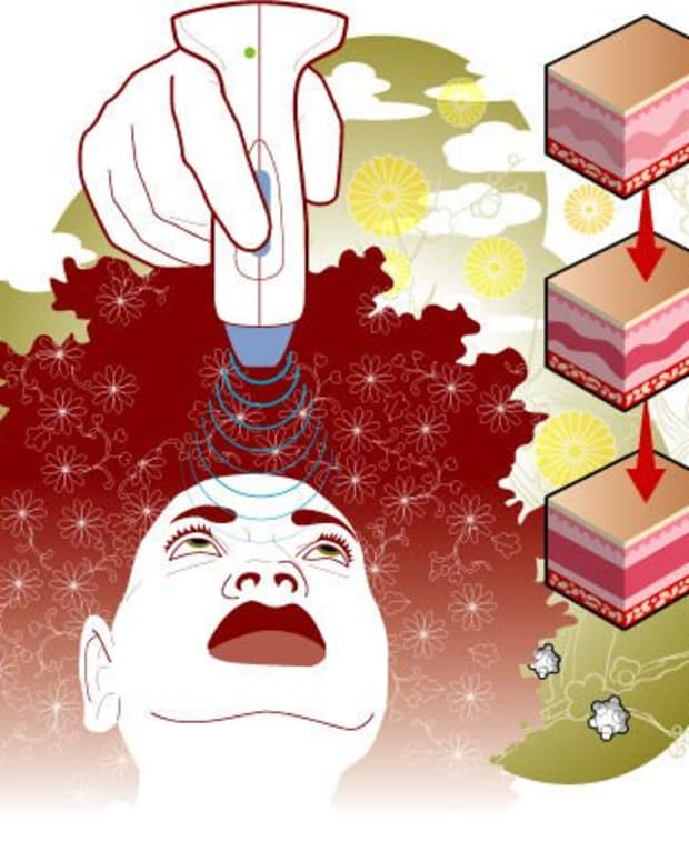 Thermage by illos for TimeOut NY, the Spa issue