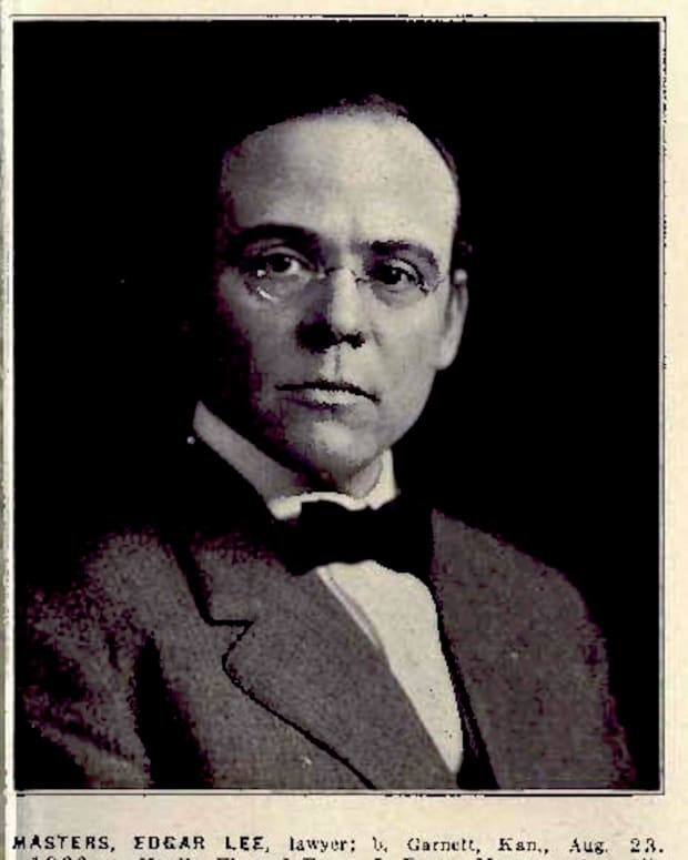 Edgar Lee Masters, Esq. - Clarence Darrow Law Library