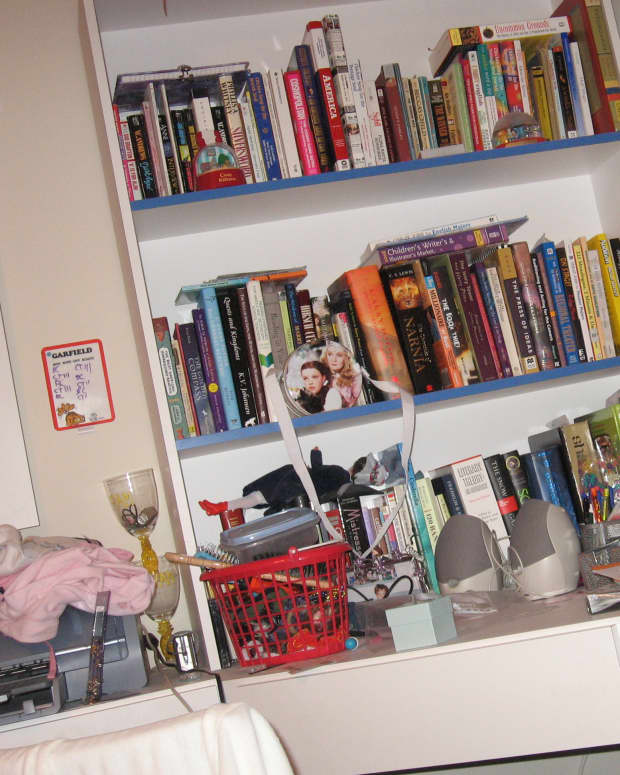 A teenage girl who never cleaned her room