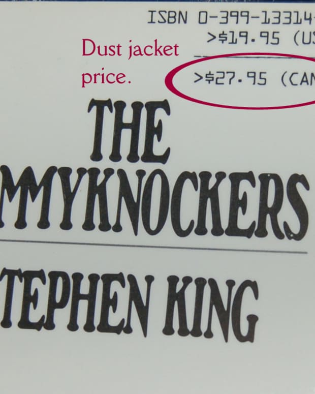 Example of dust jacket price