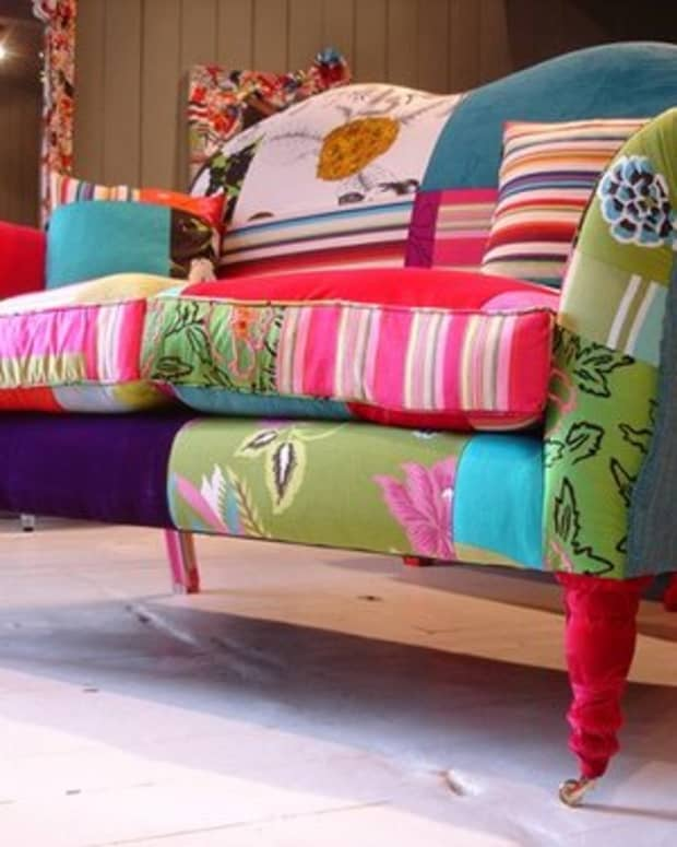 Colorful Upholstery (Photo courtesy by Dacia Ray from Flickr)