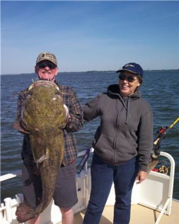 How Would You Like to Catch One of These Brutes! Keep Reading. We can teach you how.