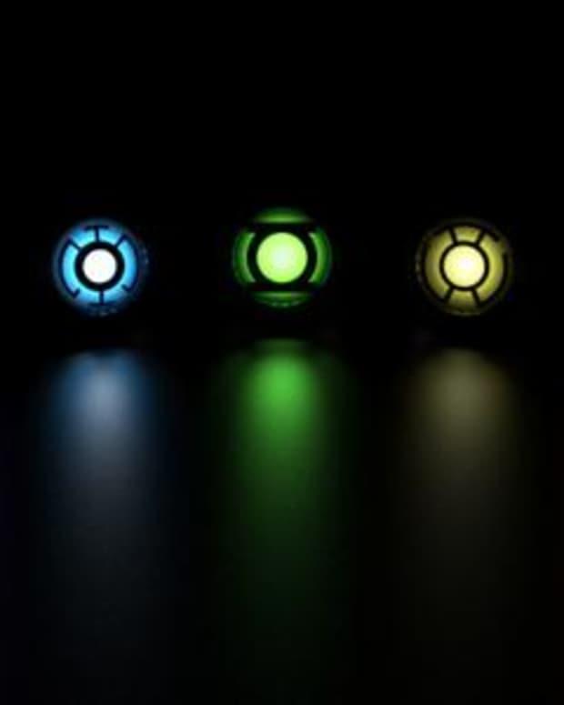 The emotional spectrum of Green Lantern rings