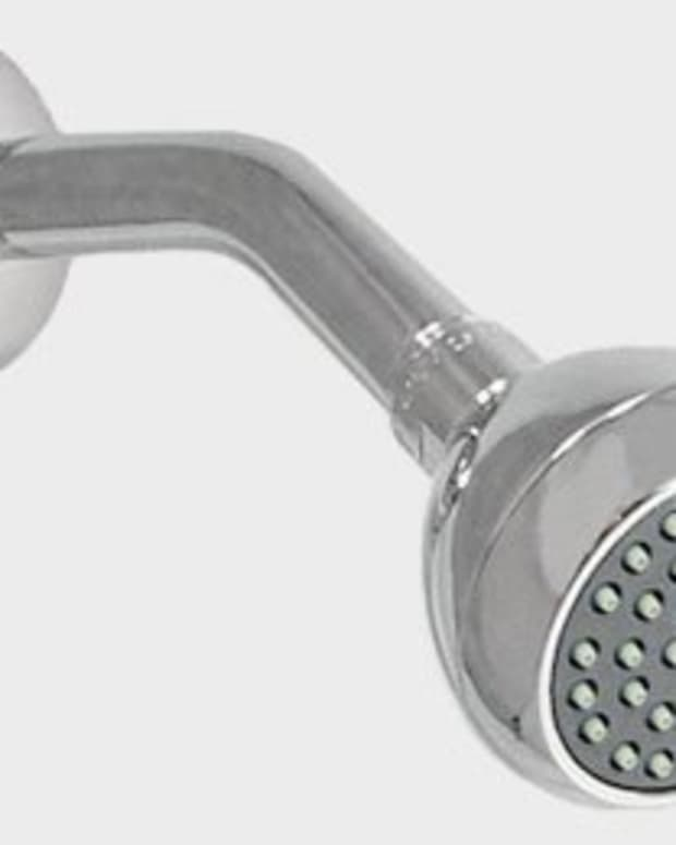 The infamous shower head.