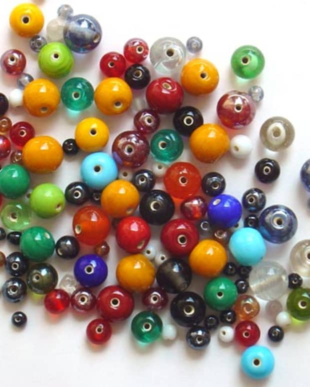 """you can use beads to represent your """"grudge"""""""