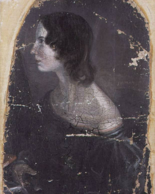 wikimedia commons (from a painting by Emily's brother, Branwell Bronte)