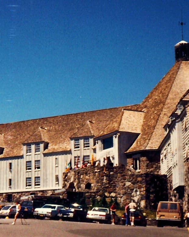Timberline Lodge * Photo by Peggy W