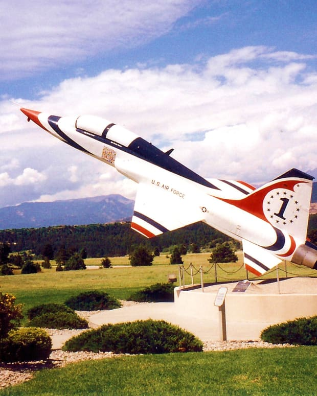 Photo by Peggy W at the U.S. Air Force Academy in Colorado Springs, Colorado
