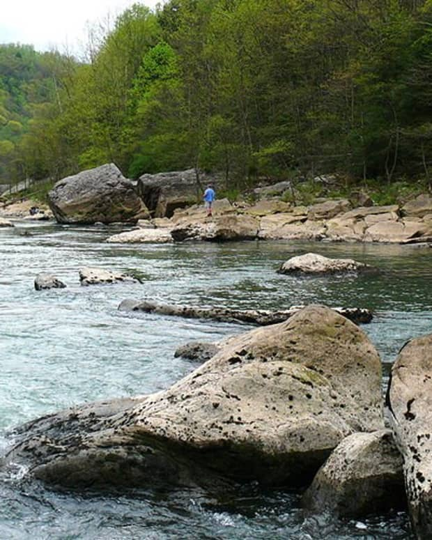 A good looking spot for trout fishing.