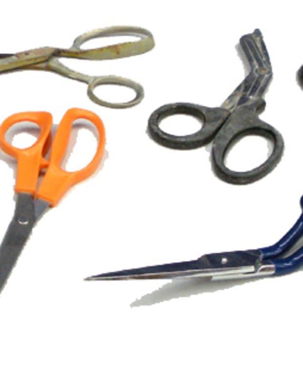 An assortment of scissors
