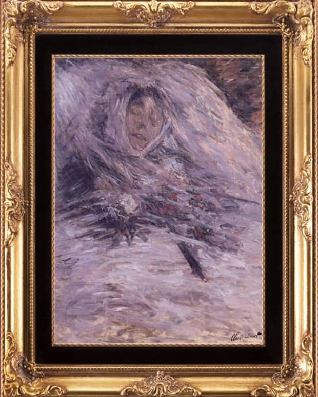Claude Monet: Camille Monet sur son lit de mort