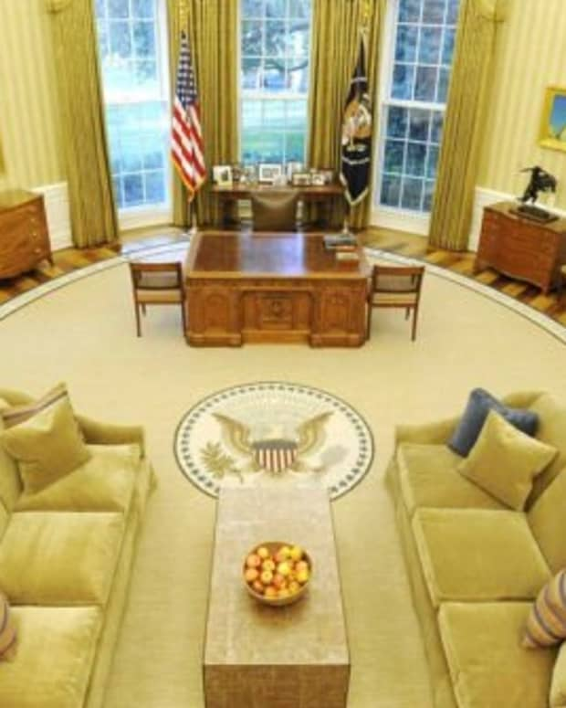 President Obama's Oval Office Makeover was unveiled on August 31, 2010.