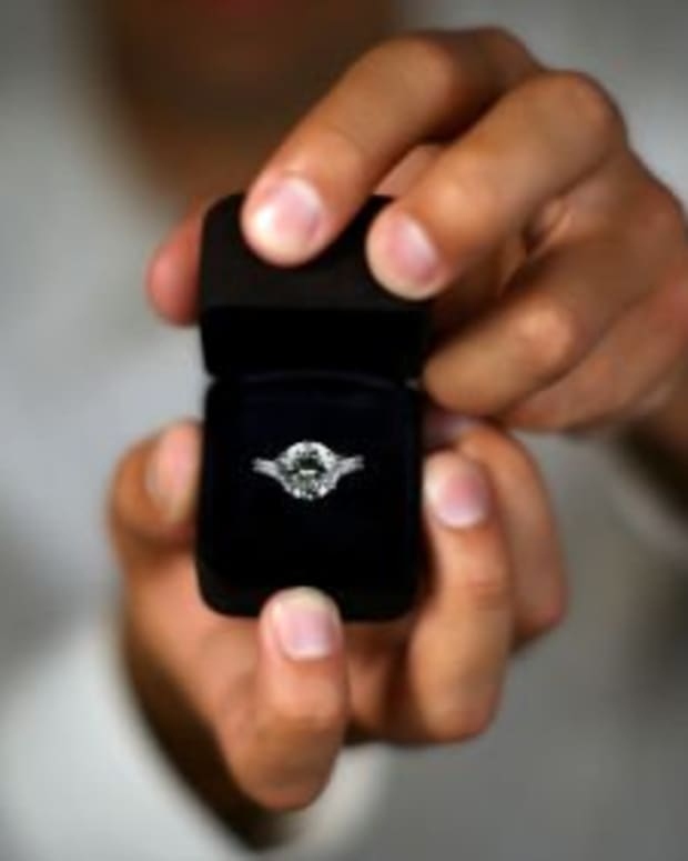 """The four little words that will change everything: """"Will you marry me?""""."""