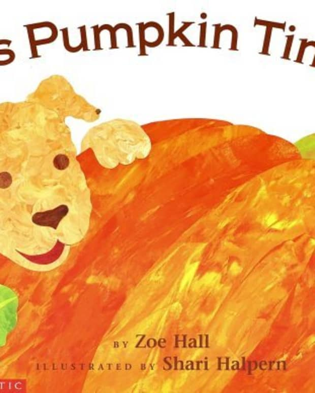 It's Pumpkin Time by Zoe Hall and illustrated by Shari Halpern ISBN 0590558498