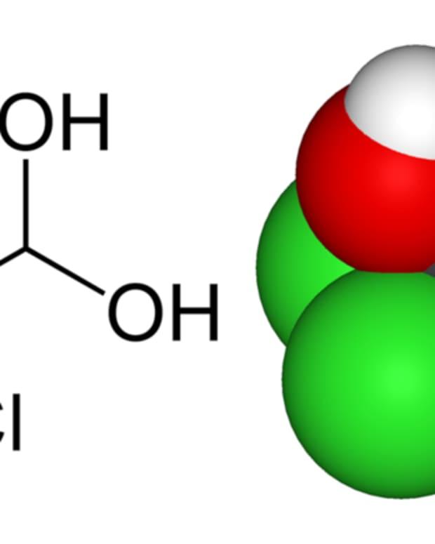 Chlorine Molecule