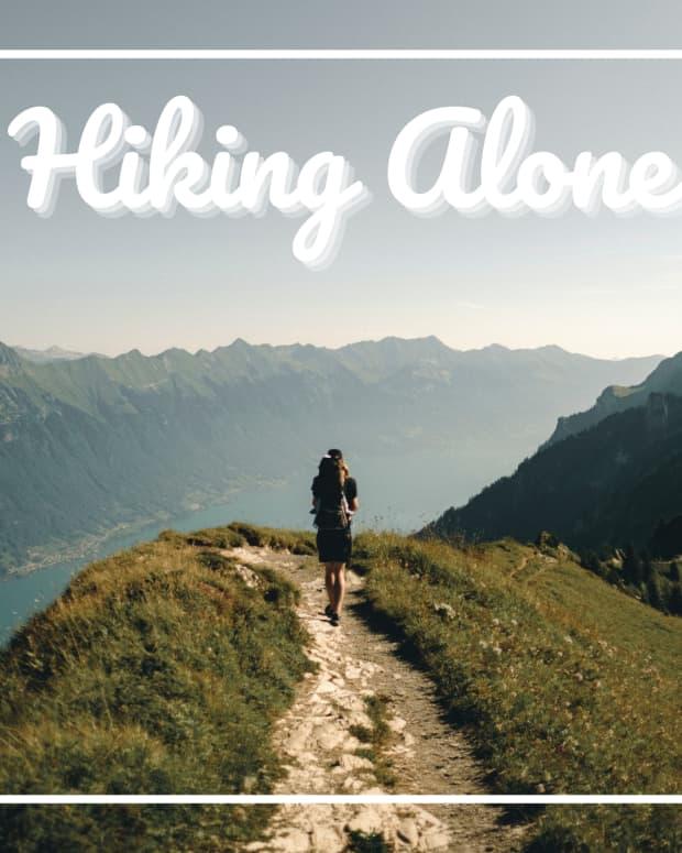 hiking-alone