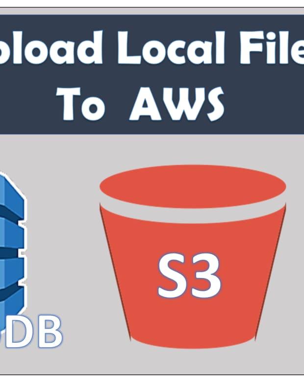 upload-files-aws-s3-and-dynamodb