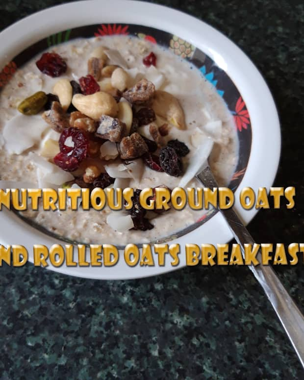 nutritious-ground-oats-and-rolled-oats-breakfast