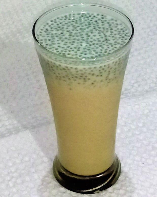 sabja-basil-seed-milkshake-recipe