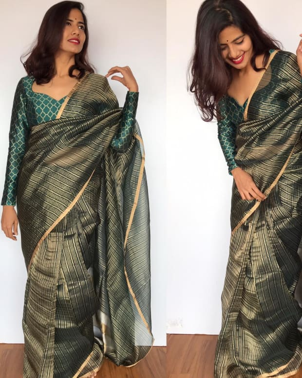 get-effortlessly-chic-with-organza-sarees-know-the-stunning-fabric