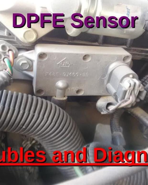 DPFE传感器诊断