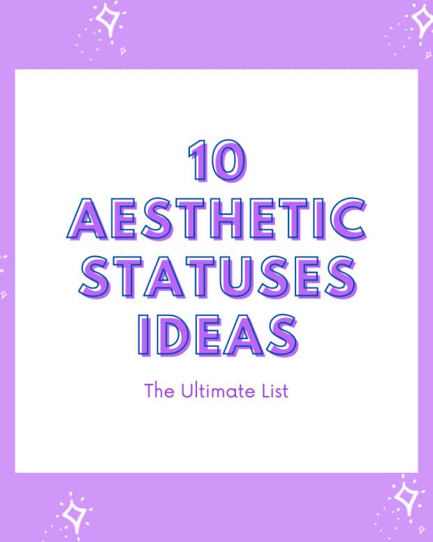 aesthetic-statuses