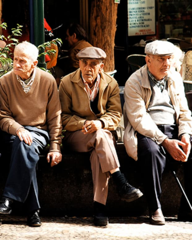 Old men sitting