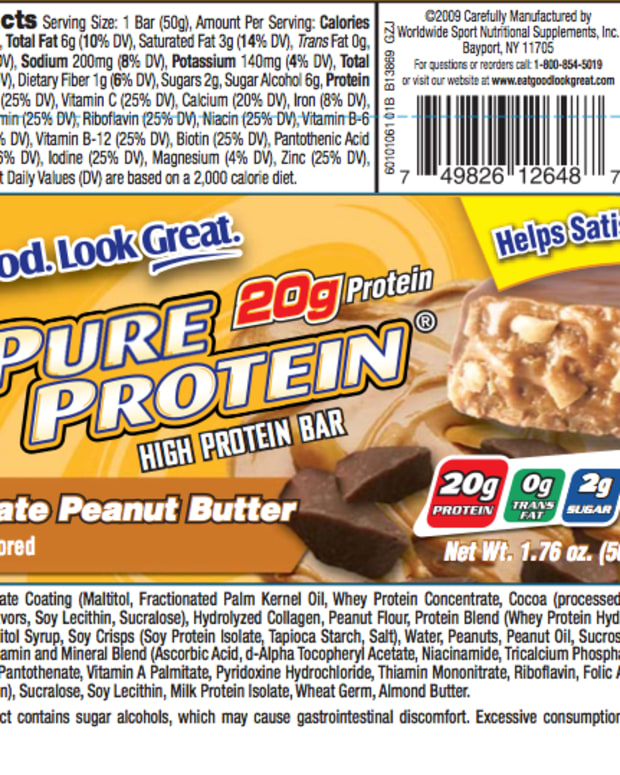It's not always easy to find a bar with the perfect nutritional information, so sometimes you need to trade some calories, and carbs for protein and taste.  This bar is one of my favorites.