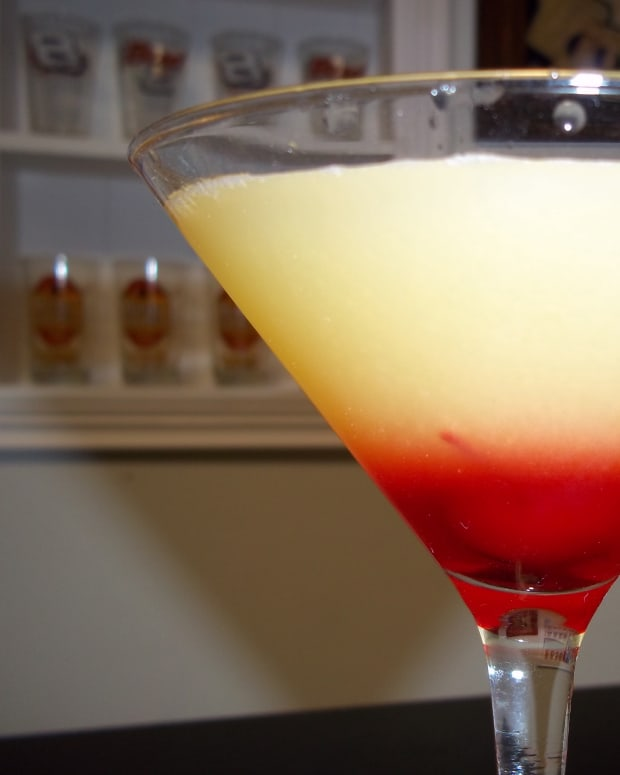 the-best-pineapple-upside-down-cake-martini-and-shot-recipe