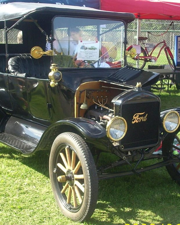 1916 Brass Model T