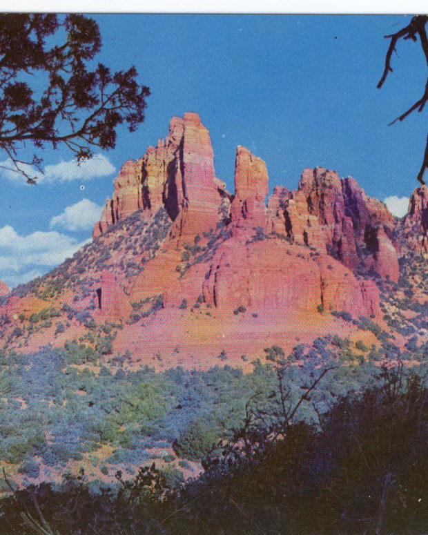 亚利桑那州塞多纳红岩