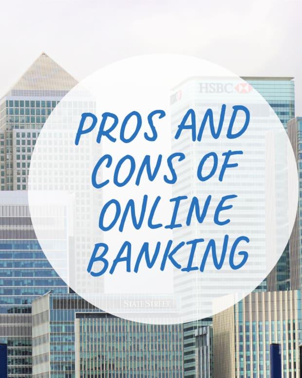 互联网银行的优点 - 缺点 - 银行